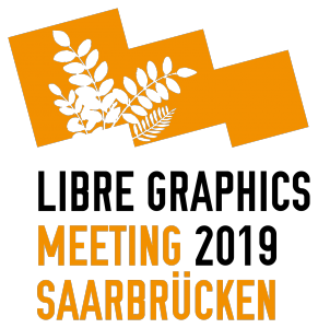 Logo Libre Graphics Meeting 2019 Saarbrücken